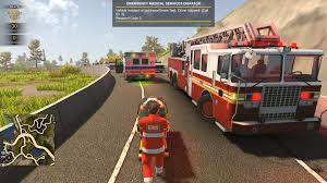 100 Fire Truck Parking Games Flashing Lights Police Fighting Emergency Services Simulator