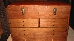 Tool Box Dresser Black by Building Oak Tool Boxes Youtube
