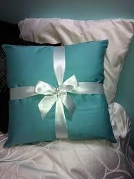 Tiffany Blue Bedroom Ideas by Tiffany U0027s Pillow I Made For My Breakfast At Tiffany U0027s Inspired