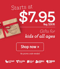 KiwiCo Cyber Monday Coupon - 60% Off Your First Box! | MSA Deal Free Onemonth Kiwico Subscription Handson Science 2019 Koala Kiwi Doodle And Tinker Crate Reviews Odds Pens Coupon Code 50 Off First Month Last Day Gentlemans Box Review October 2018 Girl Teaching About Color Light To Kids With A Year Of Boxes Giveaway May 2016 Holiday Fairy Wings My Honest Co Of Monthly Exploring Ultra Violet Wild West February