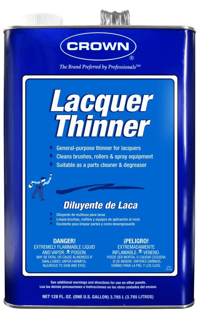 Crown Lacquer Thinner Gallon