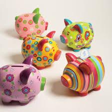 Cupcakes Cartwheels Sweet Saving Piggy Bank