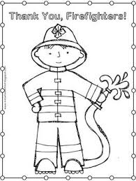 First Grade Health Fire Safety Coloring Pages