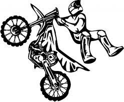 Dirt Bike Coloring Pages Free For Kids E9bnu