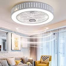 qjuzo moderne deckenventilator mit beleuchtung fernbedienung dimmbar led deckenleuchte einstellbar fan leise deckenventilator wohnzimmer