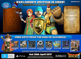 Dragon Quest Heroes II Explorer s Edition EB Games New Zealand