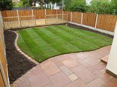 Low Maintenance Back Yard Landscaping Ideas Gardens Using Hard Paving Gravel And