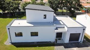 bac a avec toit beautiful maison contemporaine toit bac acier sous sol images
