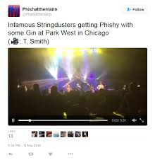 Bathtub Gin Phish Tribute Band by Watch The Infamous Stringdusters Cover Phish Grateful Dead In