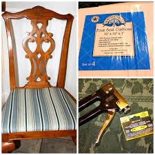 HoliMess: Replacing The Fabric On Dining Room Chairs Splendid Shabby Chic Ding Chair Cushions Ercol Foam Rustic Extraordinary Burlap Chairs Room Covers 65 Representative Of Elaborate Photos Armchair Cushion Brown Fniture And Pottery Barn Anywhere Replacement Trends 7 How To Replace Or Upgrade Chair Seat Foam Youtube Inspirational 21 Best Scheme For Seat Kitchen Ideas Also Beautiful Pads Nilkamal