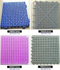 bathroom floor plastic interlocking tiles anti slip drainage