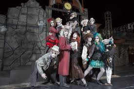 Best Halloween Attractions In Nj by Six Flags With Preschoolers Fright Fest Flags And Haunted
