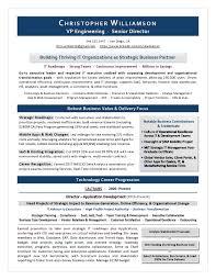 Executive Resume Samples From Top US Award Winning