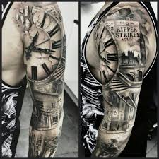Amazing Clock Tattoo Designs Ideas Gallery Amp 2016 Regarding