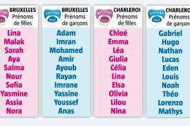 prenom musulman garcon moderne chloé lina malak adam imran voici les prénoms les plus