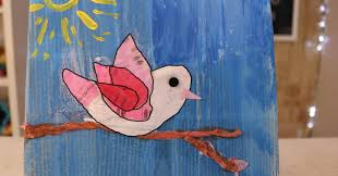 How To Make Bird Newspaper Art For Kids
