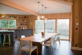 3 kitchen table pendant lighting installations embrace mid century