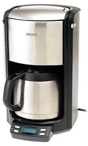 KRUPS FMF5 Programmable Coffee Maker With Double Wall Thermal Carafe And LED Control Panel 10