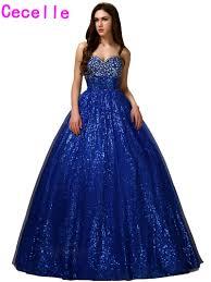 online get cheap sparkly princess prom dress aliexpress com