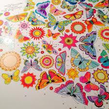 Jardin Secret Coloring BooksArt TherapyButterflyColour