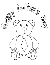 Fathers Day Colouring Pages