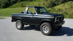 100 1982 Ford Truck Bronco Black PURE BS Bronco Stuff Bronco