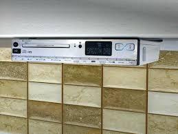 Ilive Under Cabinet Radio Cd Player by Kitchen Radio Under Cabinet Bluetooth Medium Image For Under