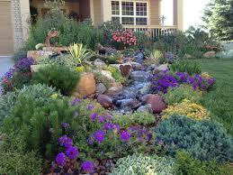 Wildflower Garden Design Shocking Rustic Country Flower Beds