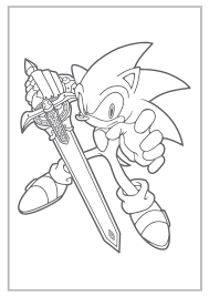 Mario And Sonic Colouring Pages