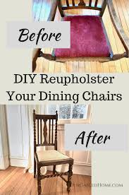 DIY Reupholstering Dining Chairs - Our Gabled Home How To Transform A Vintage Ding Table With Paint Bluesky 13 Creative Ways Repurpose Old Chairs Repurposed Reupholster Chair Straying From Your New Uses For Thrift Store Alternative Room Fabric Ideas 20 Easy Fniture Hacks With Pictures Repurposed Ding Chairs Loris Decoration Upcycled Made Into An Upholstered Bench Stadium Seats Diy In 2019 Rustic Beach Cottage Diy Build Faux Barnwood Building Strong Dresser And Makeovers My