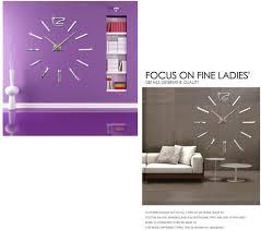 clocks design wand uhr wohnzimmer wanduhr spiegel edelstahl
