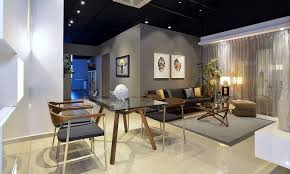 Residential Interior Showroom Evoking an Urban Feel lifeyle