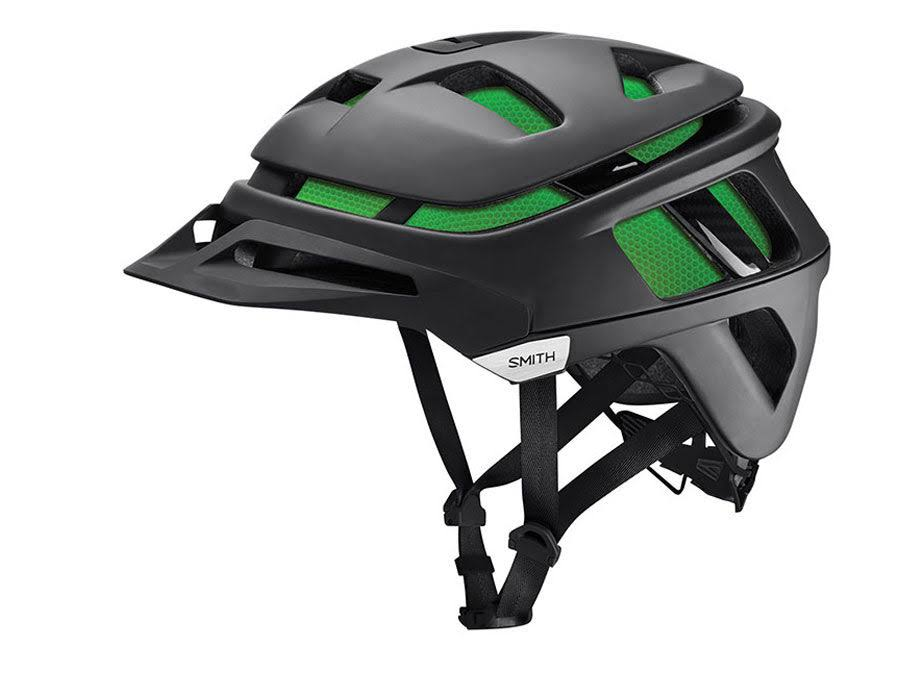 Smith Forefront Bike Helmet (Matte Black, Small)