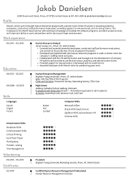 Resume Examples By Real People: Human Resources Analyst ...