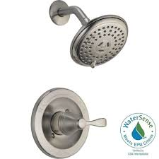 Delta Windemere Bathroom Faucet Bronze by 3 Handle Tub And Shower Faucet Brushed Nickel