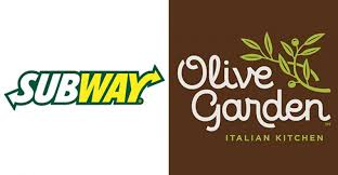 Subway Olive Garden top midyear buzz rankings
