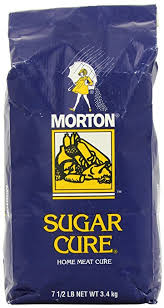 Amazon Morton Sugar Cure Salt Plain 7 5 Pound Mixed