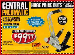 Manual Floor Nailer Harbor Freight by Harbor Freight Flooring Nailer 100 Images Decrease Divot From