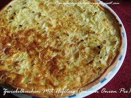 zwiebelkuchen mit hefeteig german pie recipes recipe