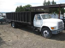 1999 Ford F800 Flatbed Dump For Sale In Central Point, Oregon 97502 ...