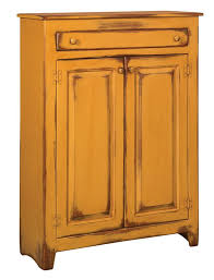 Amish Pine Jelly Cabinet