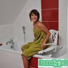 siege baignoire pour handicapé chaise de baignoire pivotante a 360