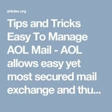 if you are not able to recover an aol email password and reset an