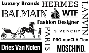WTFSG Luxury Brands Fashion Designer Pronunciations