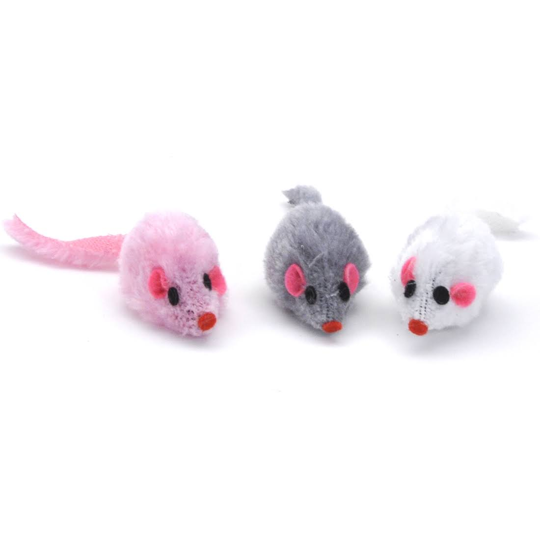 Coastal Pet Turbo Furry Mice Cat Toy, Assorted