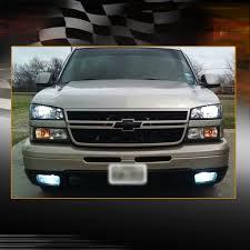 2003 2006 chevy silverado avalanche clear bumper fog light w