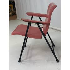 190522-1032-RUSSEL WRIGHT For SAMSONITE Folding Chair ... Set Of 4 Mid Century Samsonite Folding Chairs White And Comfort Series Steel Vinyl Chair Neutral Seat Back Tubular Natural Frame Fourlegged Base John Lewis Partners Henley By Kettler Outdoor Recliner Grey 2000 Injection Mold Fanback Black Trolley 41l X 19w 77h 2200 Polypropylene Tempered Powder Coated 4000 New Stackable Plastic Catering Marquee Garden Blue Burgundy In Heathrow Ldon Gumtree Sml497541050