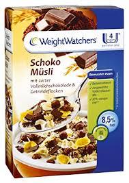 weight watchers schoko müsli 480g de lebensmittel