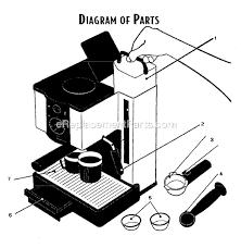 Mr Coffee ECMP10 Parts List And Diagram EReplacementParts