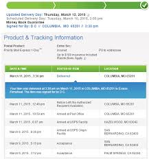 Priority Mail Express Delayed refund The eBay munity